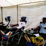 Round Table Malawi and MBTS donating blood